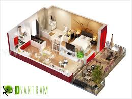 2 Bhk Home Design Plans by Floor Plan Design Of Bhk Work With Great Gallery 2bhk Porch 3d