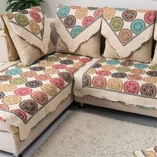 Cotton Sofa Slipcovers by Amazon Com Ostepdecor Cotton Non Slip Quilted Sofa Furniture