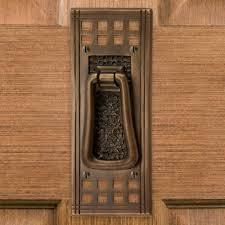 mission brass door knocker hardware