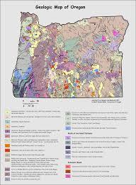 geologic map oregon oregon geology geology of oregon earth