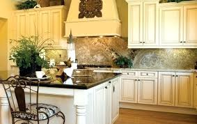 Cream Colored Kitchen Cabinets With White Appliances Cream Cabinet Kitchen Childcarepartnerships Org