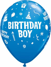 birthday boy birthday boy balloons happy birthday balloons 6pc