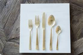 tableware flatware cottage luxe