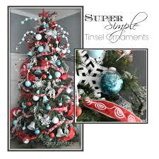 trim a tree series easy tinsel ornaments sawdust 2 stitches