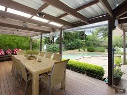 enclosed outdoor living areas outdoor designs