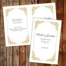beautiful wedding programs 37 best diy wedding programs images on diy wedding