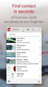 Business Card Reader For Android Business Card Reader Pro Business Card Scanner 4 7 621 Download