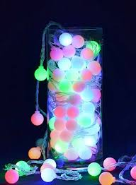 color changing solar string lights rgb globe lights string