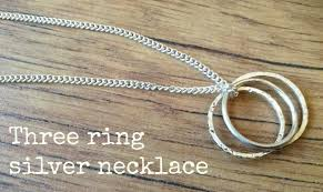three ring something for the weekend three ring necklace crafts on sea
