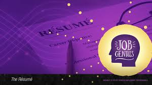 What Is The Best Way To Write A Resume by Best Way To Write A Resume Job Genius Youtube