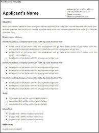 blank resume template pdf free sle resume cv format resume cv cover letter 87 glamorous cv