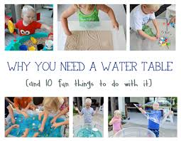Water Table Toddler Why You Need A Water Table And 10 Fun Things To Do With It