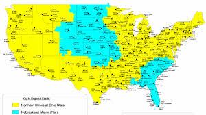 Nebraska State Map Nebraska Vs Miami 2015 Coverage Map Corn Nation