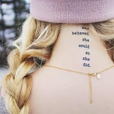 all manifestation tattoos empowering tattoos