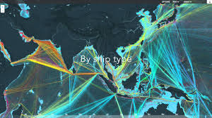 Ups Shipping Map Stunning Map Of Global Shipping Youtube