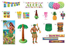 luau party theme