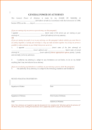 Power Of Attorney To Sign Documents by 9 Revoke Power Of Attorney Form Letter Template Word