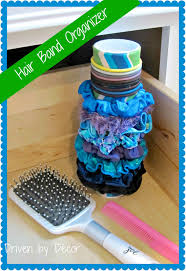 organize hair accessories diy organizer for hair accessories driven by decor