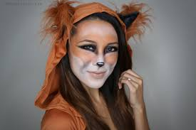 cute halloween cat makeup fox halloween tutorial from head to toe