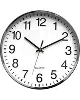silent wall clocks surprise savings on quiet wall clocks