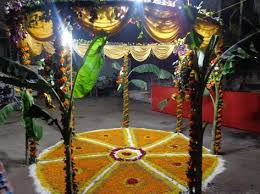 Bengali Mandap Decorations Mandap Decoration Services In Ulubari Guwahati Id 13152045948