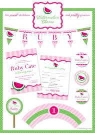 party themes july 68 best watermelon party ideas images on pinterest watermelon