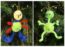 sand dollar alien christmas ornament homemade christmas ornaments