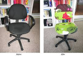 Recover Chair Office Chair Recovered Two Sweet Homes
