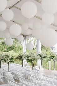 large white balloons thao alex palais royale tent weddings large balloons wedding