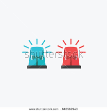 Blue Lights For Firefighters Siren Stock Images Royalty Free Images U0026 Vectors Shutterstock