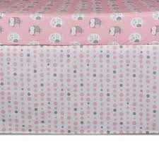 Bed Skirt For Crib Crib Bed Skirt Pink Dots Lolli Living Living Textiles Co