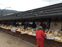 zakopane local and crafts and cheese market picture of
