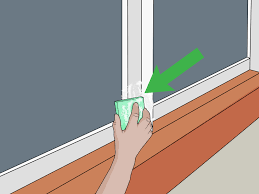 3 ways to clean aluminum window frames wikihow