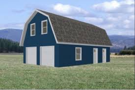 gambrel roof garages gambrel roof barn plans home design ideas and pictures