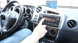 bluetooth kit for toyota matrix 2005 2008 by gta car kits youtube
