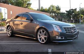 cadillac cts 20 inch wheels 2009 cadillac cts with e g classics kit and 20 vogue cv 7 wheels