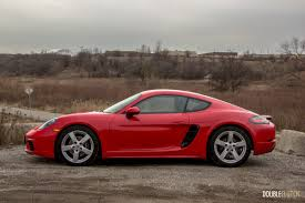 porsche red 2017 2017 porsche 718 cayman review doubleclutch ca