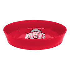 home decor columbus ohio ohio state university osu buckeyes soap dish osu bathroom decor tsc