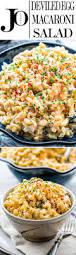 deviled egg macaroni salad jo cooks