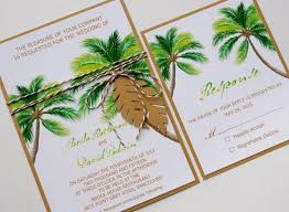 palm tree wedding invitations palm tree wedding invitations awesome tropical palm tree