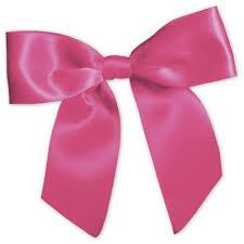 pink bows hot pink pre satin bows 7 8 x 3 bags bows