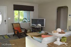 Coastal Livingroom by Contemporary Coastal Living Room Makeover H20bungalow