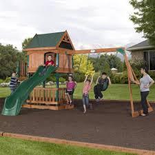brookhaven wooden swing set playset backyard discovery