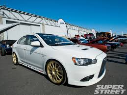 ralliart wallpaper ek civic mitsubishi lancer ralliart sportback front right view