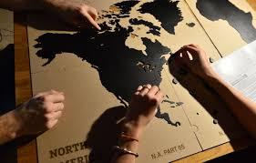 True World Map by Channeldistribution Luxury Wooden World Map True Puzzle 100 X 60