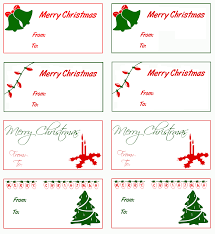 merry christmas tags clipart 40