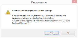 configure xp dreamweaver unusual behavior in dreamweaver try restoring preferences