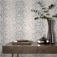 rasch mandalay silver white snakeskin animal print feature rasch mandalay silver white snakeskin animal print feature wallpaper 281026