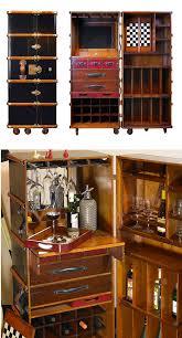 Trunk Bar Cabinet Trunk Bar Speakeasy Party Ideas Trunk Bar Home Bar Ideas