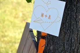 wedding program fan sticks orange wedding fan sticks and brown jute twine make this wedding